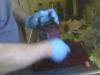 wear gloves!